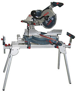 Bosch 12 in compound mitre saw with stand