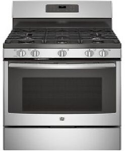 """30"""" Free-Standing Self-Cleaning Gas Range Stainless Steel"""