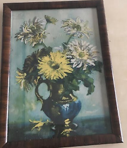 Decorative Painting of flowers in a vase
