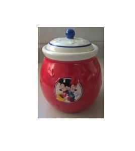 Disney Mickey Mouse & Minnie Mouse Cookie Jar