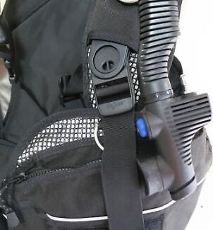 Used Seaquest PRO QD M-L Weight Integrated BCD Scuba Diving