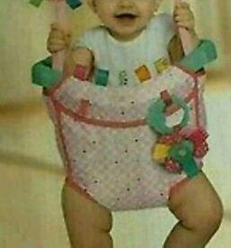 Baby door swing with free baby powder