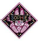 My Name Sequin Art