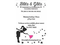 Cleaner available From £10.00 per hour