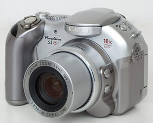 Canon Power-Shot S1 IS Digital Camera  10x Image Stabilizer Zoom