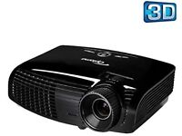Optoma 131x 3D HD 1080P Projector, motorised screen and surround sound speakers. HOME CINEMA BUNDLE.