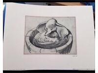 Original dumbo sketch