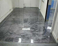 Custom Epoxy Floor Coating