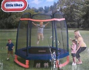 BNIB Little Tikes 7ft Trampoline