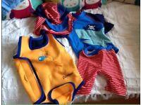 2 baby swimming costumes