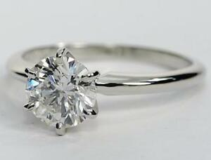 BEST DEAL IN CANADA FOR 1.00CT + SOLITAIRE ENGAGEMENT RING 14K WHITE OR YELLOW GOLD BAND $4999.00 UP