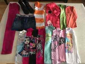 Lot de vêtement  10 - 10/12  pour fille.