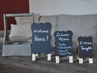 New Product - Chalkboard Tags & Chalkboard Easel- New Products