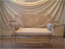 collection Cast Iron Gold Wedding Chairs