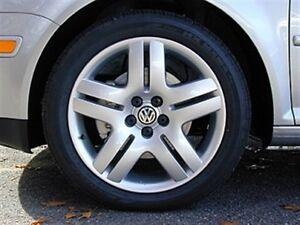 """Volkswagen Long Beach 17"""" 5x100 rims w tires"""