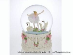 Brand new musical water globe with Santa snowman ballerina Sale