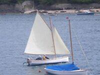 'SAMPHIRE' – 'Tela' class half-ton 5m gaff-rigged dayboat