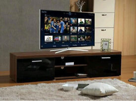 Brand new modern large 2M TV stand/cabinet unit with high gloss doors