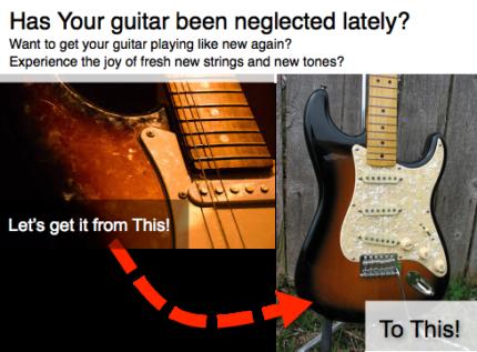 Guitar Repairs Northern Beaches