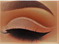 Micro-blading, eyelash lift, tint, brow enhancements, creative lashes