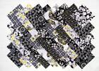 Gray Yellow Fabric