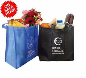 Reusable Logo Printed Non-Woven Grocery Bags/Customize Bag/Logo Printing