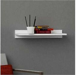 Brand new white floating shelf