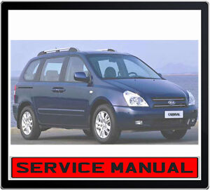 Manual Transmission Kia Sedona 2006 Manual