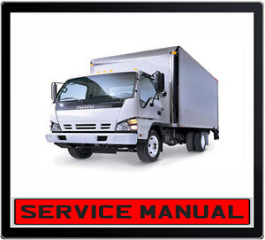 Isuzu npr 4be1 Workshop Manual