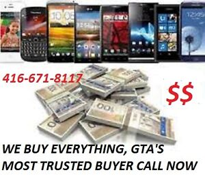 ★WANTED★ALL SAMSUNGS N7,N5,S7 S6*iPHONE 7S/6/5★BLACKBERRY+MORE