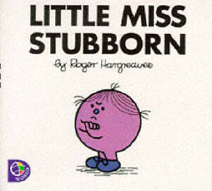 Good, Little Miss Stubborn (Little Miss Library), Hargreaves, Roger, Book