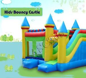 Commercial Grade PVC Bounce New Kid's Large Inflatable Crayon Bounce Jumping House with Blower Castle Crayon Jumpe212074