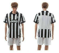 Men's Juventus Blank Home Soccer Club Jersey **Size Medium**
