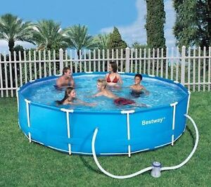 12ft round steel frame pool Oxley Park Penrith Area Preview