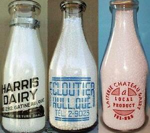 Vieilles bouteilles, cruches, objets & publicités de l'Outaouais