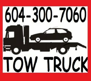 TOW TRUCK-FLAT RATES(604)300-7060(TOWING)TRICITIES,Fraser Valley