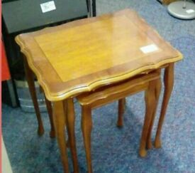 Nest of tables #34487 £20