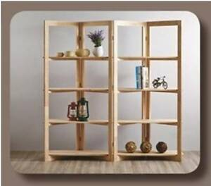 New Natural Timber Scandi Zig Zag Unit Bookcase Storage Shelves Melbourne CBD Melbourne City Preview