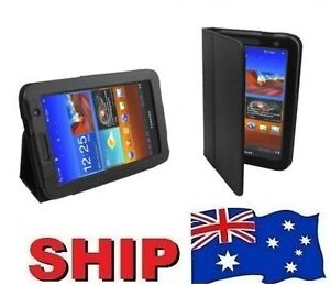 Leather Flip Case Stand Cover Samsung Galaxy Tab 2 7.0 Tablet P3100 P6200 P1000
