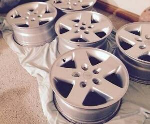 Jeep 17'' rims for