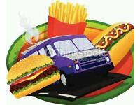 Snack van/ burger van for event or gala day