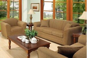 SALE- Canadian Made (Choice of Colors) sofa set all 3pcs - SALE.