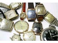 Wanted old mechanical watches