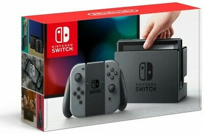 NEW Nintendo Switch - 32GB Gray Console FAST FREE SHIPPING!!