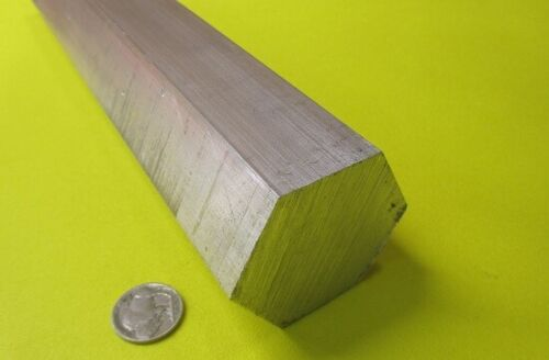 "6061 Aluminum Hex Rod 2.0"" Hex x 6 Ft Length"