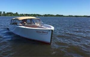 BRUCE 22 CLASSIC RUNABOUT, CHRIS CRAFT, RIVA