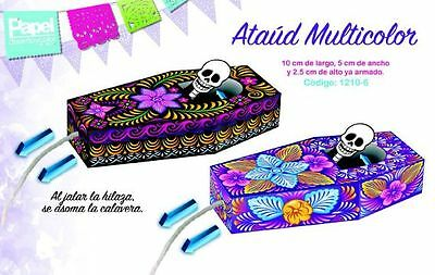 Day Of The Dead Items (LOT of 20! NEW ITEM! COFFIN TOY! - DAY OF THE DEAD, DIA DE MUERTOS )