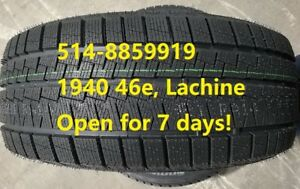 245/45R18, No.1 price value in Quebec! 514-8859919
