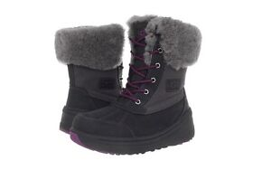 UGG Australia Womens Celiste Boots Sheepskin Winter Snow Authentic NEW $230