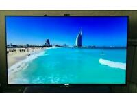 "Sony 49"" 4k Ultra HD 3D Smart with built-in freeview HD"